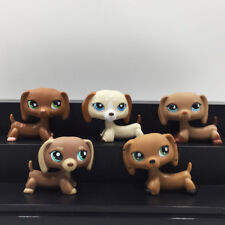 5X Littlest Pet Shop lot Dogs LPS Toys Dachshund #556 #1491 #518 #1751 Mono Gift