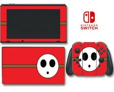 Shy Guy Super Mario Bros Enemy Video Game Decal Skin for Nintendo Switch