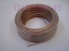100'Ft High Quality 22 AWG Gauge Home Car Audio Speaker  2 Conductor Wires Cable