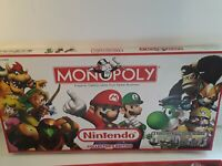 MONOPOLY NINTENDO Collector's Edition Board Game 2006 Edition Preowned