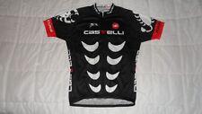 Castelli Rosso Corsa Black Cycling Jersey Men's Size XXL