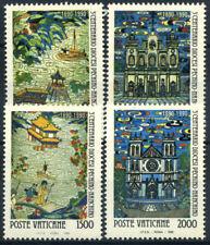 Vaticano 1990 Sass. 886-889 Nuovo ** 100% Pechino-Nanchino, due vasi cinesi