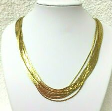 Vintage Jewllery  Fabulous  Statement Ten Stand Necklace