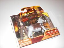 Indiana Jones - RARE Raiders Of The Lost Ark Action Figure & Horse - NEW Sealed!