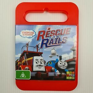 Thomas & Friends - Rescue On The Rails DVD - Region 4 PAL - FREE TRACKED POSTAGE