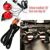 12V Horn Wiring Harness Relay Kit For Car Truck Grille Mount Blast Tone Horns yi
