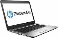 HP EliteBook 840 G4 Core i5-7200U 2.8 GHz 8GB 256GB SSD Win 10 Pro Refurbished