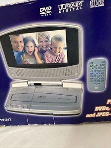 "New Venturer 6.2"" Portable DVD Player & Car Kit."