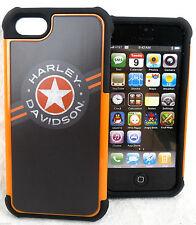 HARLEY DAVIDSON ®IPhone 5 Heavy Duty Hard Case & Skin Star Logo 07457