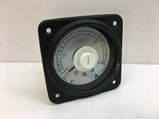 Crompton 083-03AA-LSNL Ammeter Electrical Current Amp Meter Gauge 0-30A