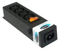 Conntek 55705 Vertical IEC 320 C13 / Sheet F Power Strip With C14 Inlet