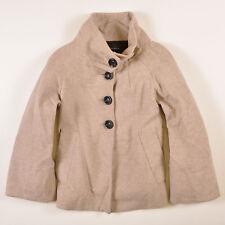 Zara Damen Jacke Jacket Gr.XL (DE 42) Basic Wolle Beige, 41601