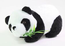 "7"" Panda Bear Eating Bamboo Plush Stuffed Animal Toy Birthday Gift USA Seller"