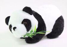 "7"" Panda Bear Eating Bamboo Plush Stuffed Animal Toy Birthday Gift USA Seller"
