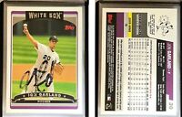Jon Garland Signed 2006 Topps #30 Card Chicago White Sox Auto Autograph