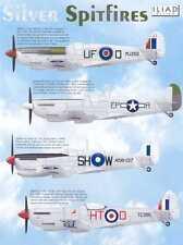 Iliad Decals 1/48 SILVER SPITFIRES British Supermarine Spitfire Fighters