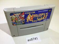 ax9741 Chou Makaimura Super Ghouls 'n Ghosts SNES Super Famicom Japan