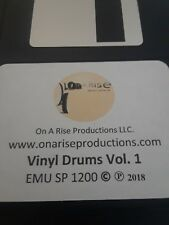EMU SP1200 Vinyl Drums Vol. 1 Sound Kit by ON A RISE PRODUCTIONS - FILLS 32 PADS