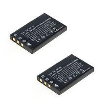 2 Akkus kompatibel zu Fuji NP-60 / Kodak KLIC-5000