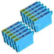 10 kompatible Tintenpatronen blau für den Drucker Epson SX235W S22