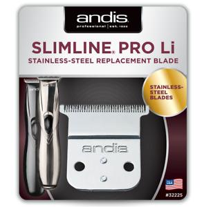 Andis Slimline Pro Li (D8 & D7) Acier Inoxydable Remplacement Ss Lame 32225 RM48