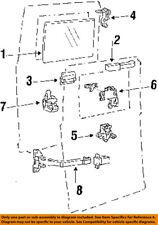 FORD OEM Rear Door-Lock or Actuator Latch Release E8UZ1543289A
