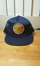 New Sheriff's Dept navy trucker hat/snapback