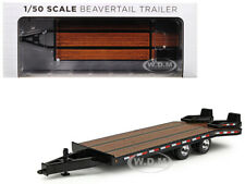 BEAVERTAIL TRAILER BLACK 1/50 DIECAST MODEL BY FIRST GEAR 50-3228