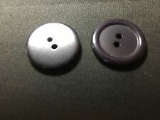 25 NEW 3//4 INCH AQUA  DULL//MATTE FINISH BUTTONS # 261CD29-23