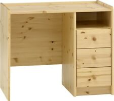 FURNITURE FOR KIDS NATURAL PINE CHILDRENS BEDROOM FURNITURE 3 DRAWER DESK
