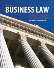 Business Law by Henry R. Cheeseman (8th Edition, Hardcover) Fast Shipping!!