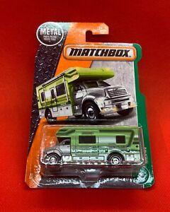 Matchbox 2017 MBX Motor Home Light Green #82 MBX Explorers