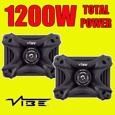 VIBE Qb69 Black Death Component Coaxial 3 Way 6x9 Design Speakers