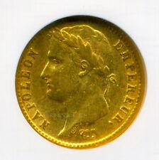 FRANCE NAPOLEON I 1811 A GOLD COIN 20 FRANCS NGC CERTIFIED GENUINE AU 55 SUPERB