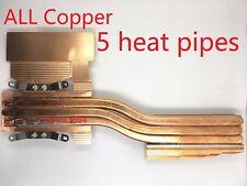 ALIENWARE AW17 R5 2013 AW17 R6 2014 17R1 P18E GPU all copper Cooler Heatsink