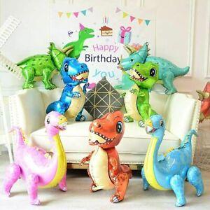 3D Dinosaur Foil Balloons Helium Balloon Children Birthday Party T-REX RAPTOR UK