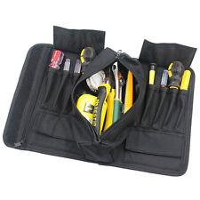 14-Pockets Oxford Spanner Wrench Tool Organizer Holder Roll Up Storage Bag