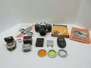 Exakta Varex Camera with Accessories