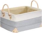 Decorative Fabric Storage Bins Basket 157x118x83 Large Canvas Laundry Room