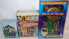 THUNDERBIRDS 2003 : DVD & TOY GIFT SET, POSTCARD SET, MONEY BOX TIN (TK) & (SC)