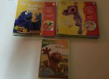 Lot 60 Sesame Street Elmo's Learning Adventure Children's Activity Books & Dvd