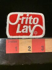 Vintage FRITO LAY Snack Food Advertising Patch Subsidiary Of Pepsi Co 00MF