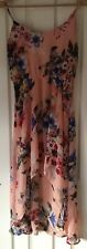 Hot Options Asymmetrical Hem Summer Dress Size: 8