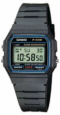 Casio Collection Adulti Unisex Orologio F-91W-1XY