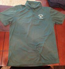 Sport Tek Cal Poly Mustangs - Men's Green Polo Shirt (L) Polyester Lacrosse Team