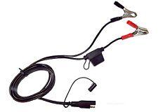 Batterie Ladekabel mit Klemmen auf SAE72 Stecker, Verlängerungskabel 12Volt