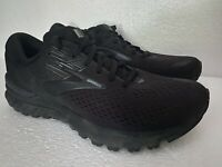 Brooks Adrenaline GTS 19 Mens Running Shoes Black Size 10
