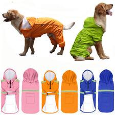 Waterproof Dog Rain Coat Small Medium Large Dog Rain Jacket Clothes Pink Coat