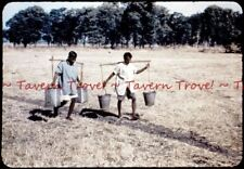 1950s India ? Water Carriers 35mm Slide s881