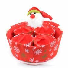 Merry Christmas Candy Storage Basket Decorations Santa Claus Baskets Ornaments